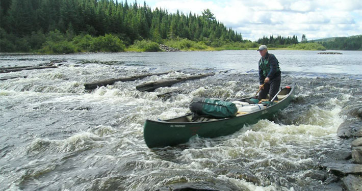 Allagash guide inc canoe trips hunting and fishing in for Fishing boat rentals near me