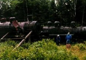 allagash wildnerness waterway eagle lake locomotives